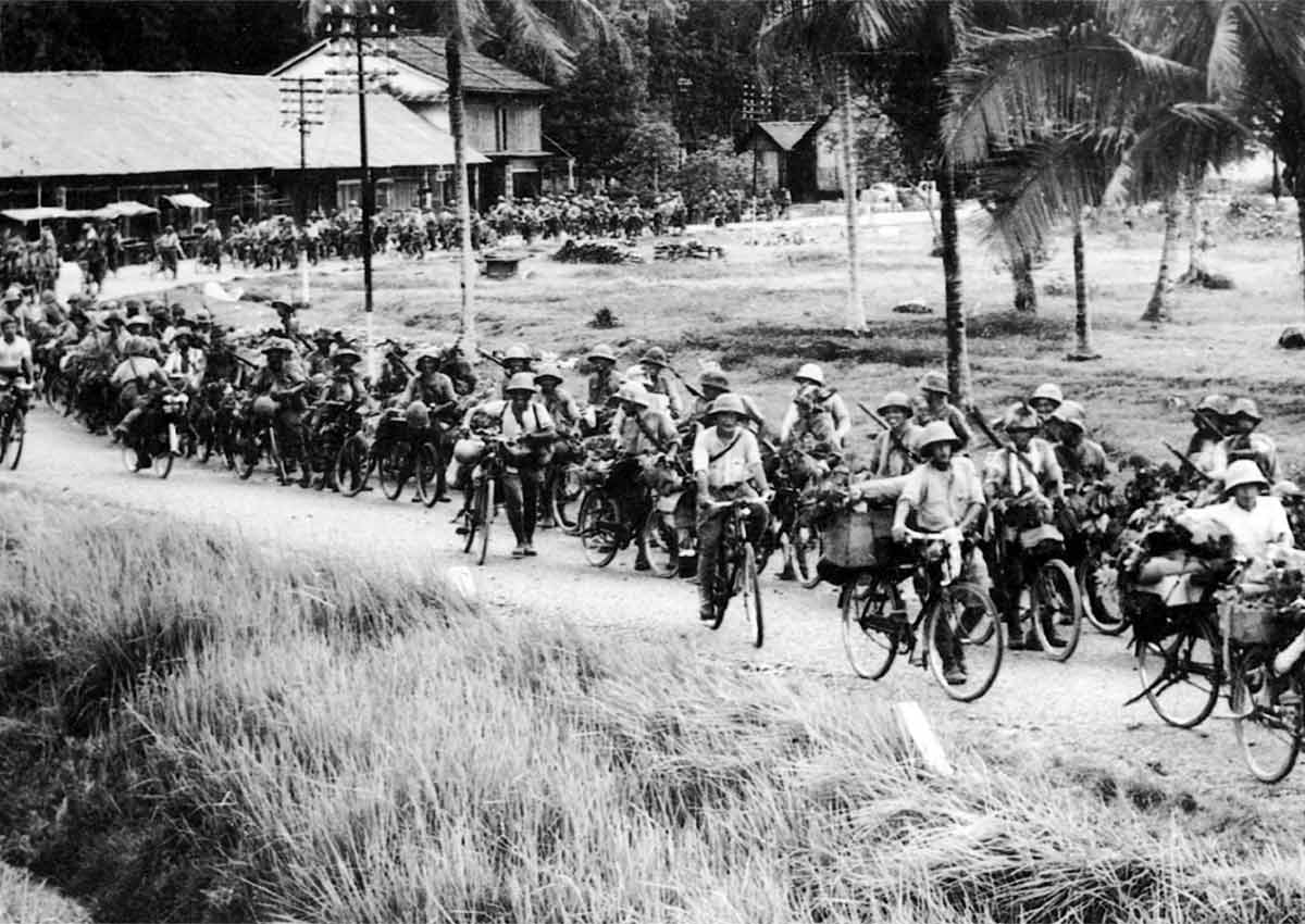 Bicycle Invasion