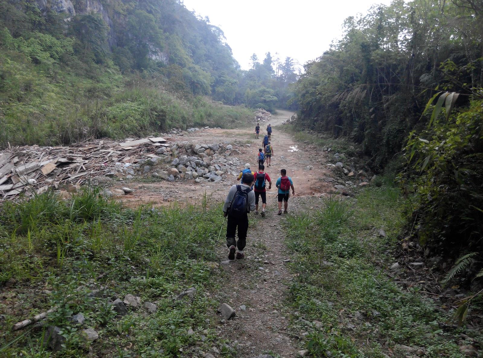 mco trekking hiking malaysia