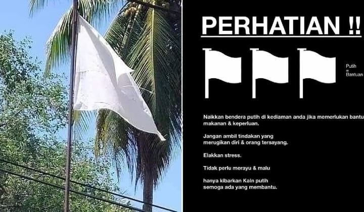what happens in lockdown malaysia SOP favourite not fair bendera putih rakyat help