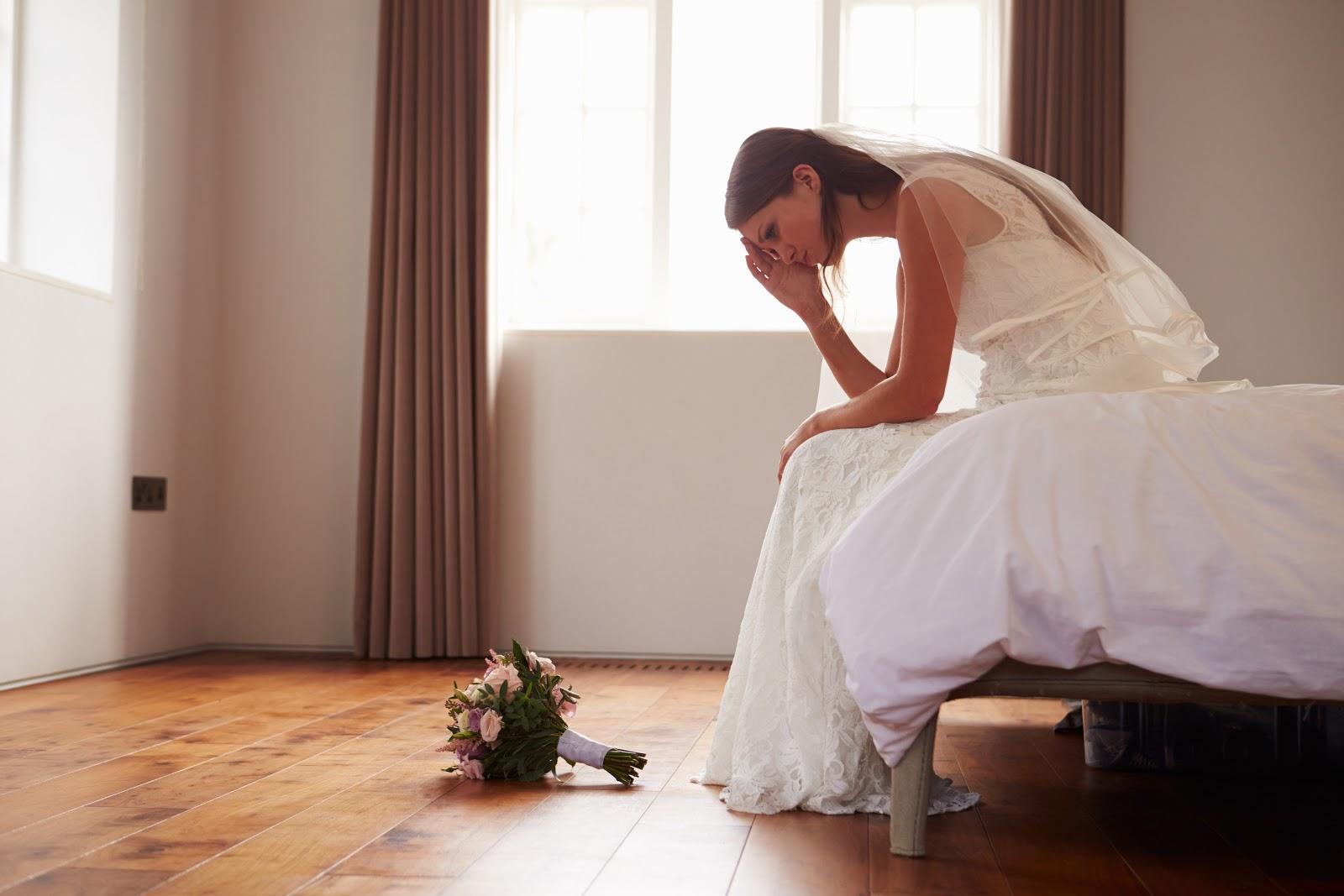 Wedding stress