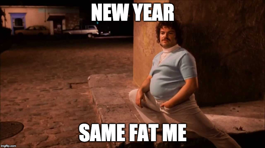 No more #NewYearNewMe