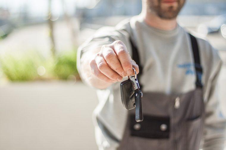 getting your car keys