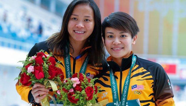 Pandelala Rinong and Cheong Jun Hoong