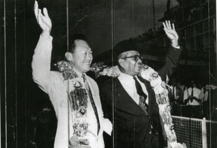 Lee Kwan Yew and Tunku Abdul Rahman
