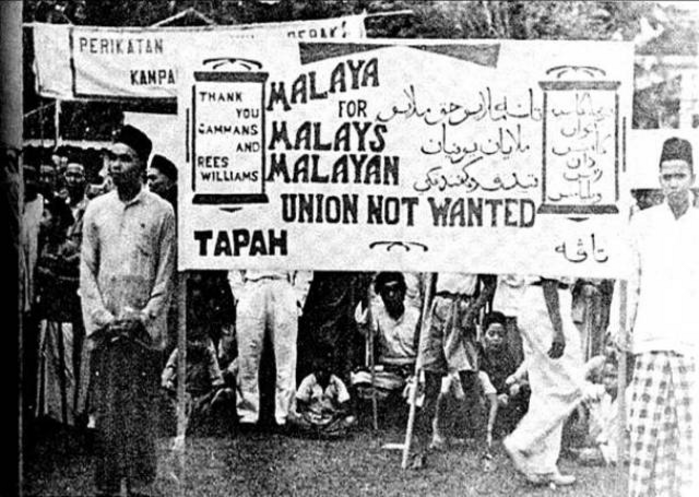 malaysian racism in history