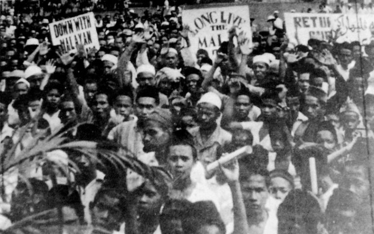 malay racism protests